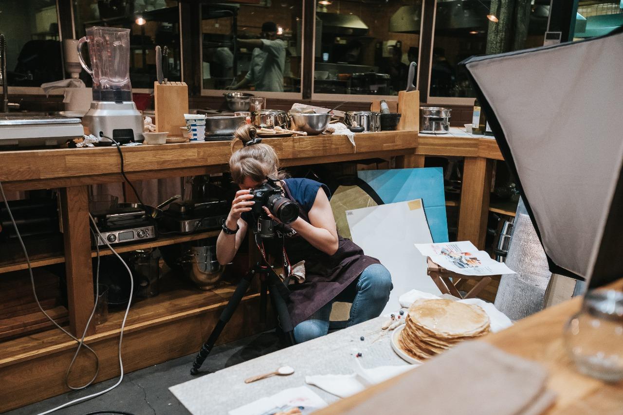 Фуд фотосъемка процесс