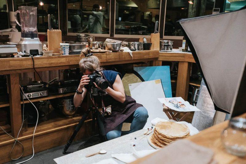 Как работает фуд фотограф
